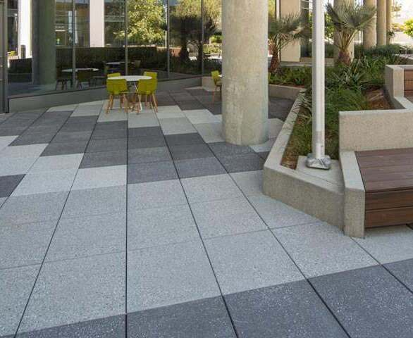 Wausau Tile Columbia Square Exterior Courtyard
