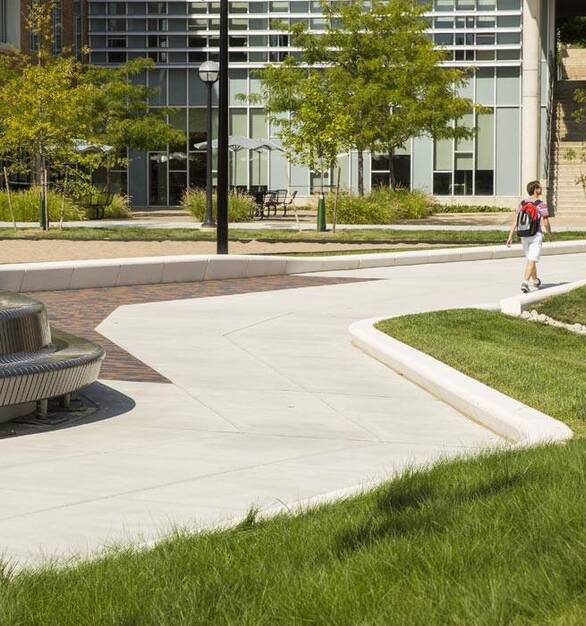 Wausau Tile Michigan University Exterior