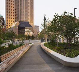 Wausau Tile Precast Concrete Cleveland Public Square Exterior Walkway