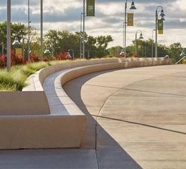 Wausau Tile Precast Lambeau Field Exterior Concrete Public Seating Areas