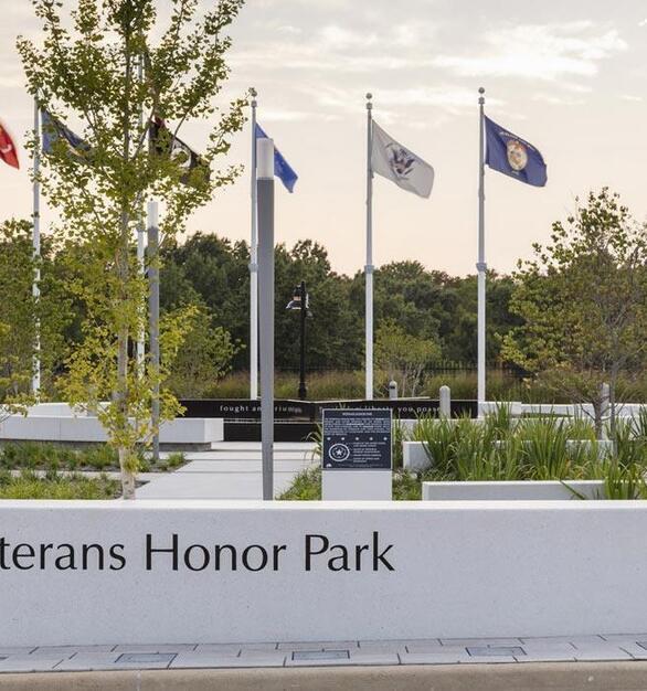 Wausau Tile Veterans Honors Park Exterior