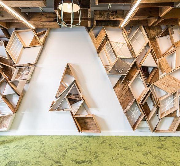 Adobe Office in San Josa, GA, designed by Gensler  Photo Credit: Emily Hagoplan