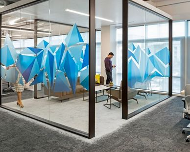 Comcast Silicon Valley Innovation Center was designed by Blitz Architecture + Interiors  Photo Credit: Jasper Sanidad