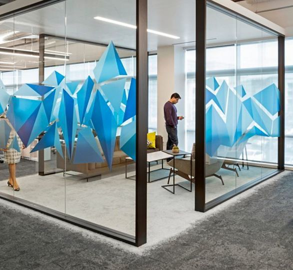 Comcast Silicon Valley Innovation Center was designed by Blitz Architecture + Interiors