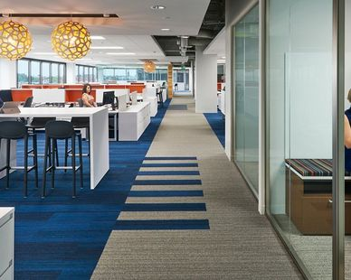 Cushman Office in Baltimore, MD, designed by Design Collective, Inc  Photo Credit: Judy Davis/Hoachlander Davis Photography