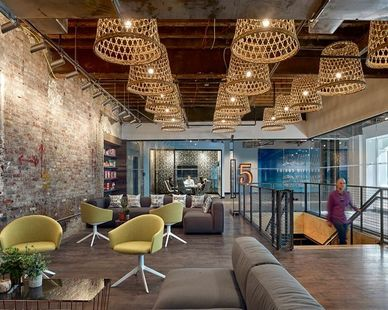 Five Below Headquarters in Philadelphia, PA, designed by D2 Groups  Photo Credit: Don Pearse Photography