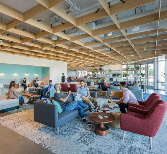 Medallia Office in San Mateo, CA, designed by M. Moser