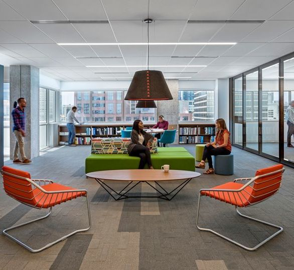 Thornton Tomasetti office in Fort Lauderdale, FL, designed by Gensler