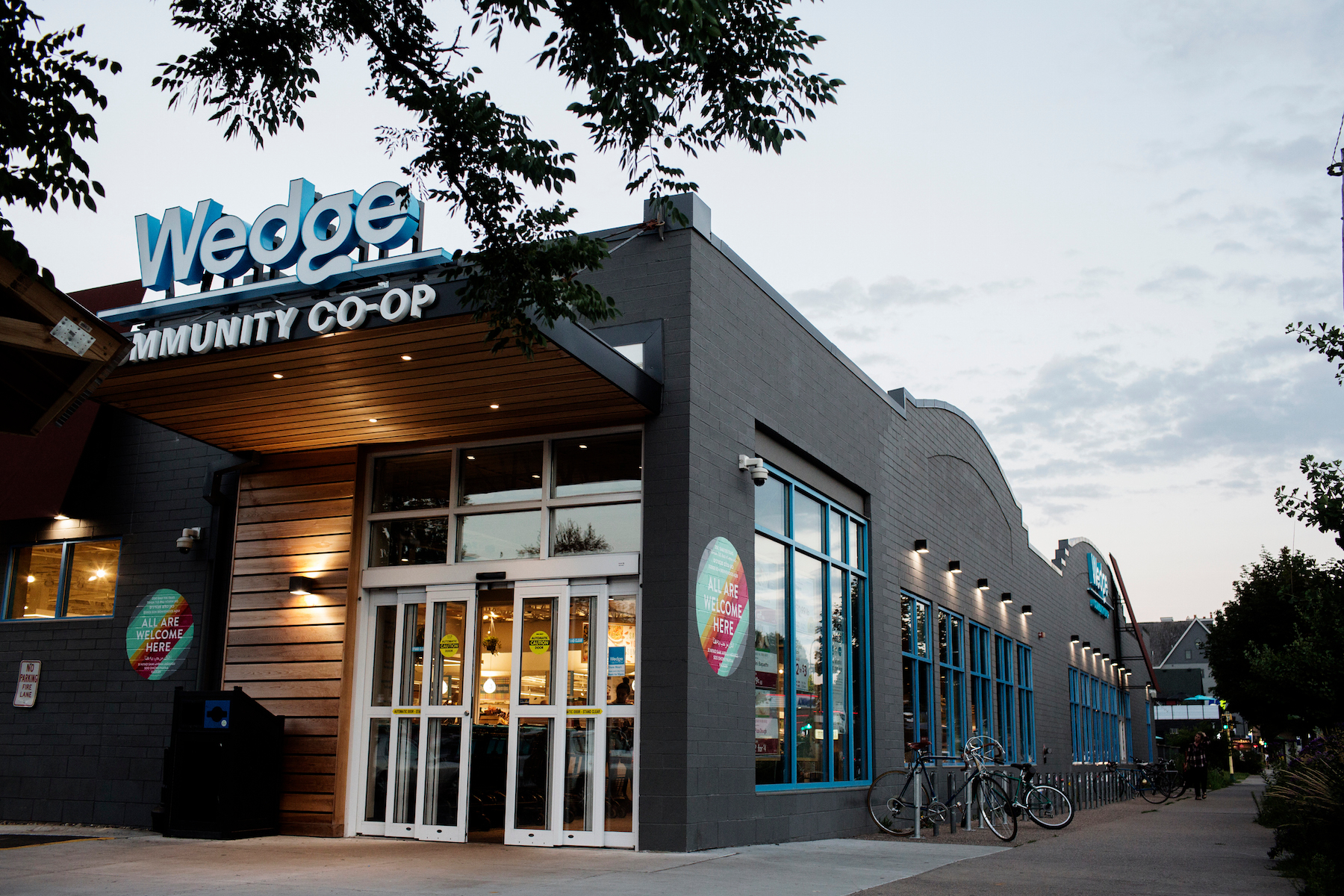 Exterior at Wedge Co-op