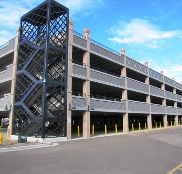 Wells Concrete provided a more open structure and better lines of site at the Coors Field Parking Structure in Denver, CO