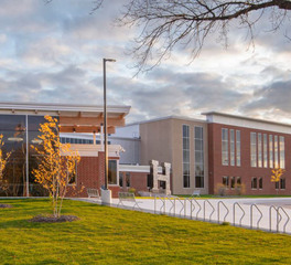 Wells Concrete Hutchinson High School Hutchinson Minnesota Education Building Exterior Facade Design