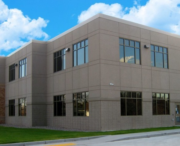 In 2017 Simle Middle School took on another expansion utilizing architectural precast concrete wall panels by Wells Concrete in lieu of the existing structure that consisted of brick and block materials.   The architectural capabilities that precast concrete wall panels offer allowed the design team to be creative and achieve the desired look tying into the existing structure aesthetically, presented a solution for the tight site conditions, and accelerated the construction schedule.