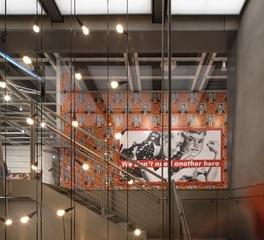Whitney Museum of American Art Turner Construction stairway
