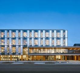 Wilson School of Design Window Facade and Interior Education Building Lighting
