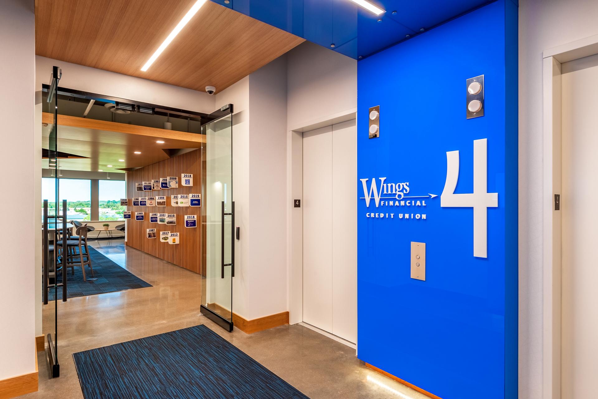 Wings Elevator Lobby