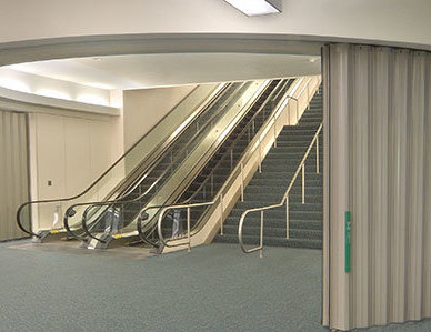 The introduction of Won-Door's fire-rated FireGuard® accordion doors to Minnesota literally created the widespan opening protective market for fire rated openings. Throughout the architectural industry, Won-Door is helping architects achieve goals of maintaining open-concept corridors, lobbies, and connections between buildings while still providing fire-safe solutions.