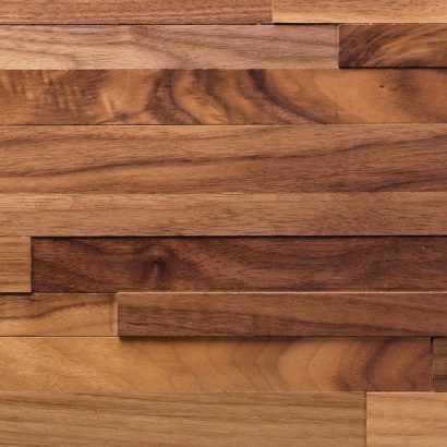 A close up view of the beautiful wood grain in the Eco-Panels from ASI.