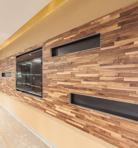 These sustainable Eco-Panels from ASI are perfect for your interior office, restaurant, retail, and so many other places.