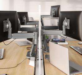 workstation design chief koncis monitor arm mount