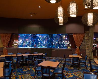 Interior of the Eureka Casino Resort in Mesquite, Nevada.