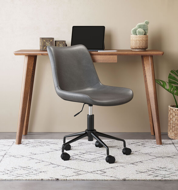 The Bryon Office Chair by ZUO Modern has mid-century modern urban lines and looks great in any space.