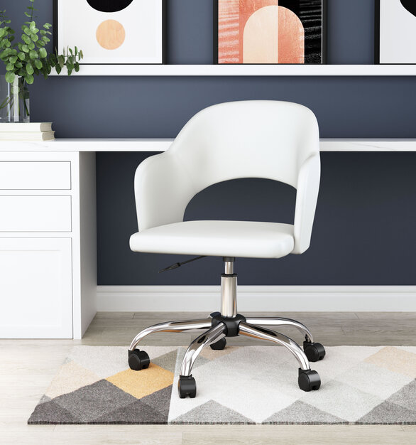 ZUO Modern's loft office chair is designed to add an accent and stylish touch to your workplace.